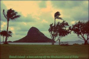 basalt islet, O'ahu, Kāneʻohe Bay, Hawaii